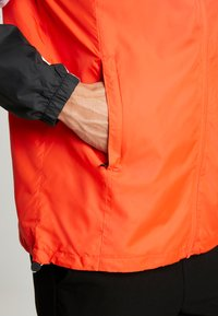 Timberland - FULL ZIP JACKET - Giacca leggera - black/spicy orange - 5