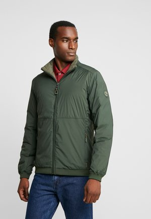 SIERRA CLIFF - Light jacket - grape leaf/duffel bag