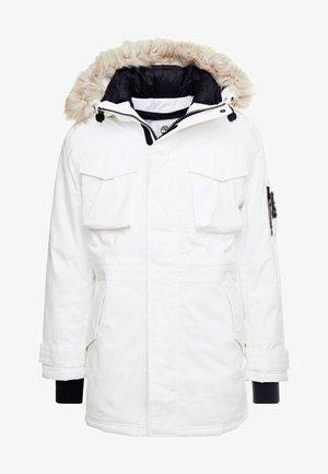 NORDIC EDGE EXPEDITION - Zimní kabát - white