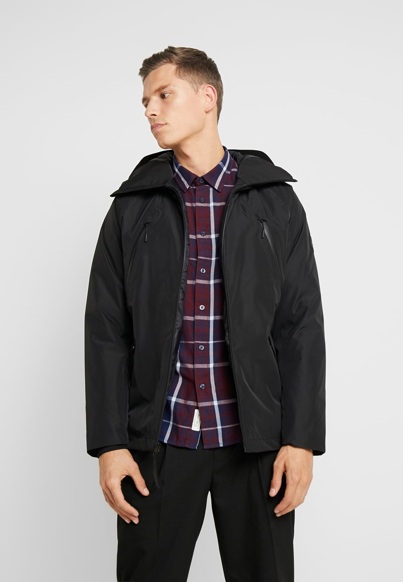 Timberland - THERMA RANGE ULTIMATE WINTER - Cappotto invernale - black