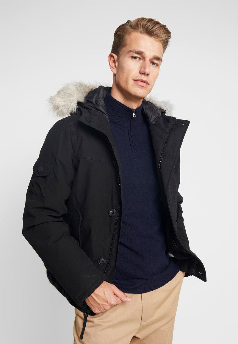 Timberland - SCAR RIDGE SNORKEL DOWNFREE - Winter jacket - black