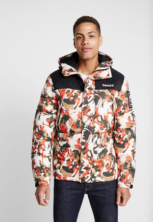 OUTDOOR ARCHIVE PUFFER JACKET - Winterjas - spicy orange/black