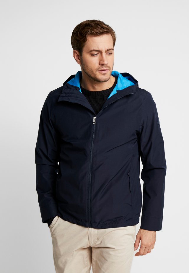 RAGGED MOUNTAIN PACKABLE - Veste imperméable - dark sapphire