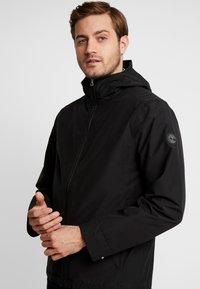 Timberland - RAGGED MOUNTAIN PACKABLE - Waterproof jacket - black - 3