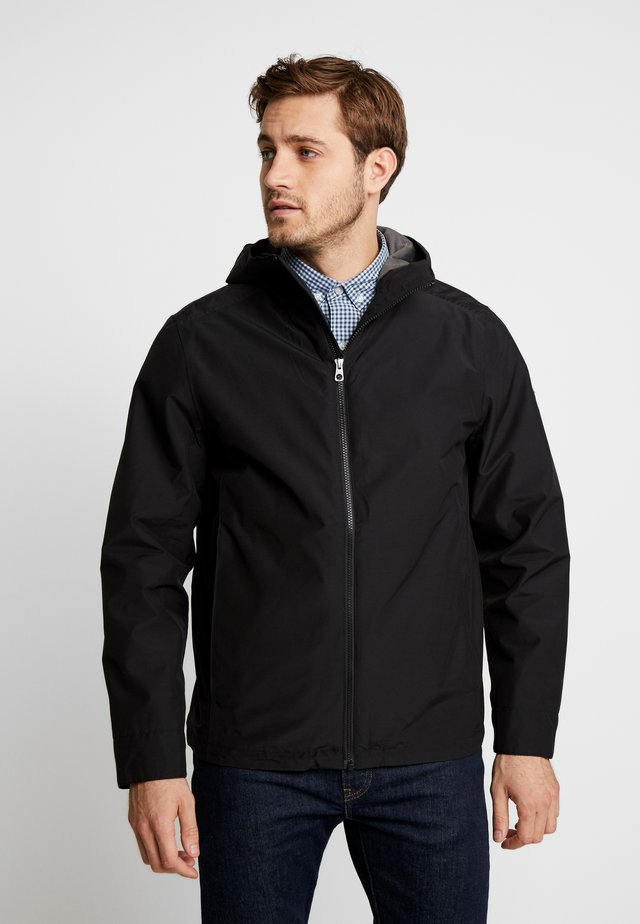 RAGGED MOUNTAIN PACKABLE - Veste imperméable - black