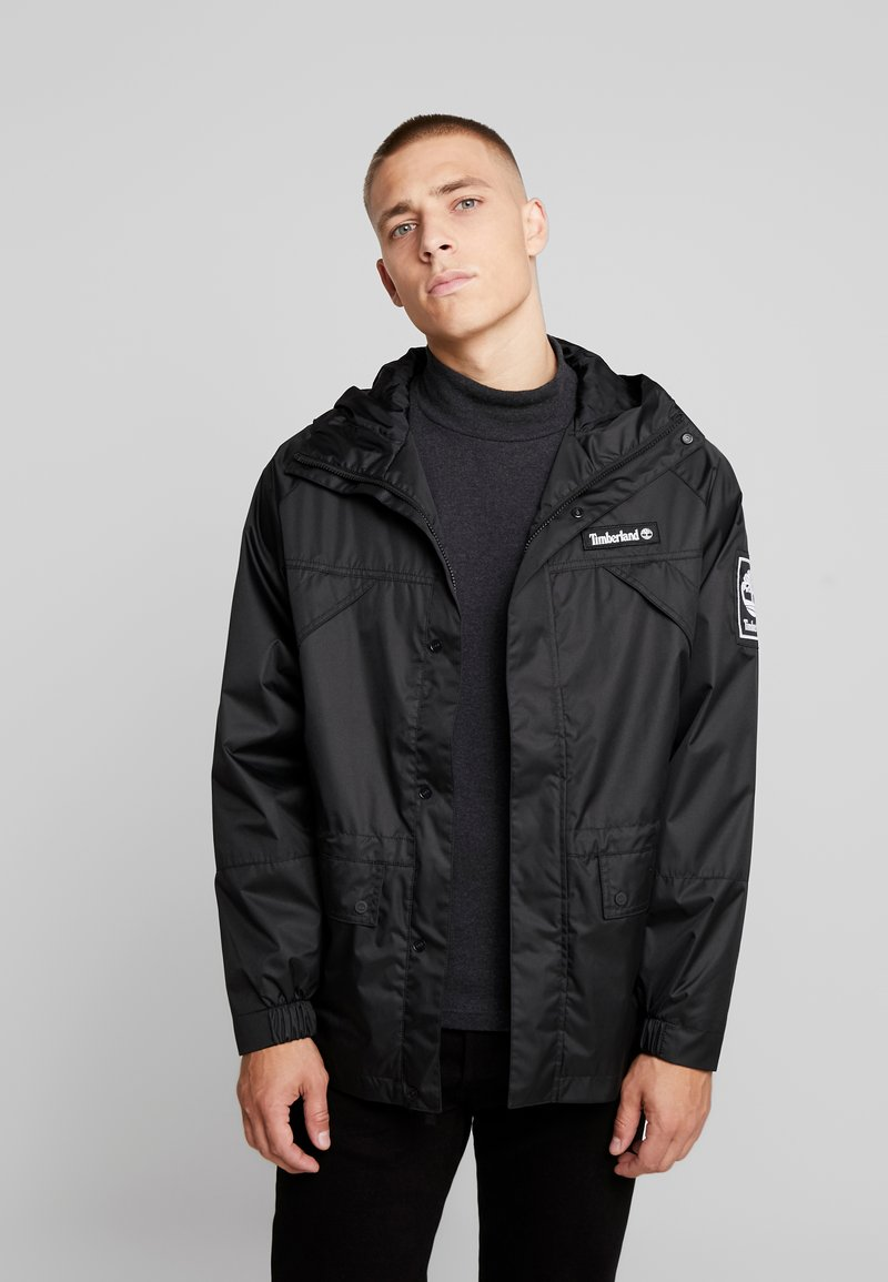 Timberland - OUTDOOR ARCHIVEHOODED  - Veste coupe-vent - black