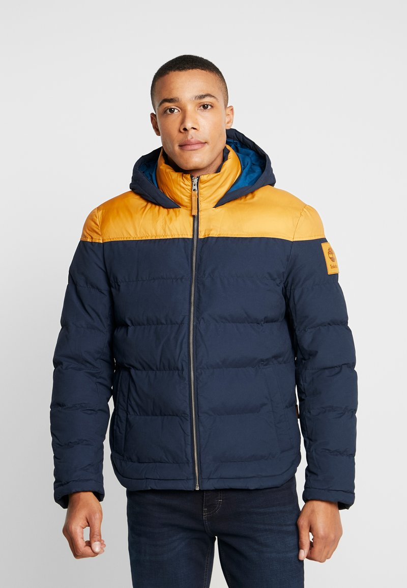 Timberland - UPDATE SOUTH TWIN JACKET - Giacca invernale - dark sapphire/wheat boot