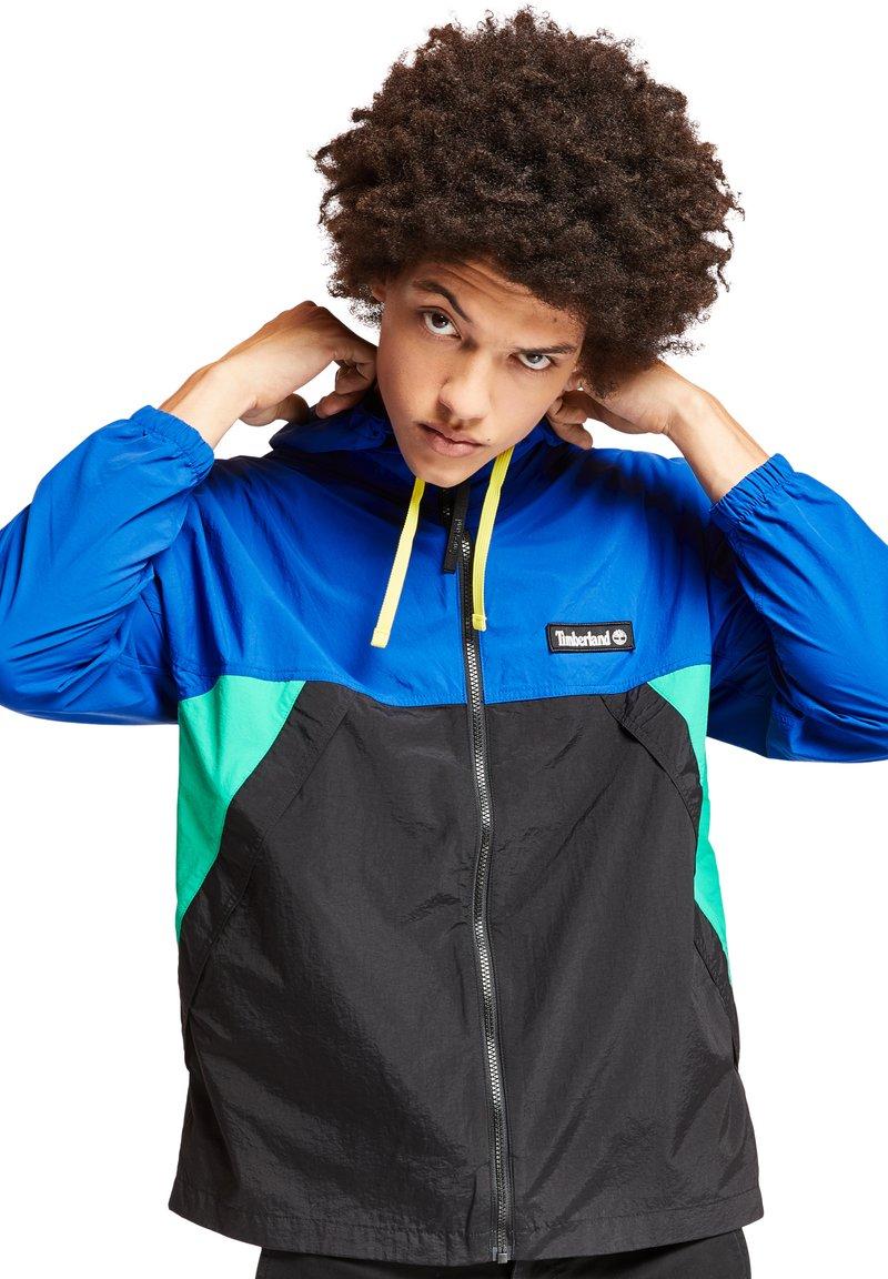 Timberland - Summer jacket - deep mint/black