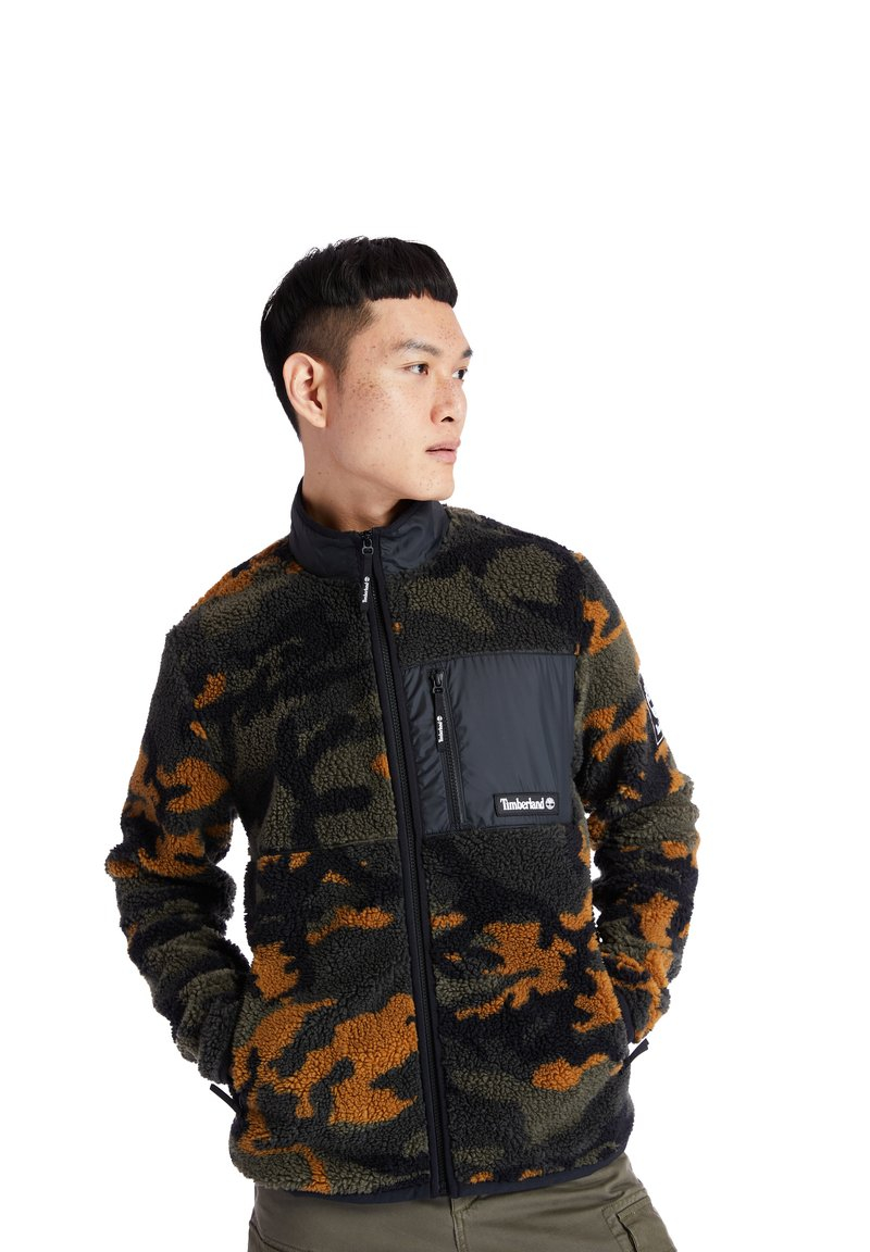 Timberland - YC CAMO SHERPA  - Light jacket - duffel bag/wheat boot house camo-black