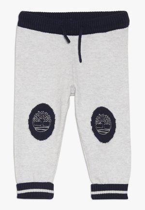 BABY PANTALON - Pantaloni - gris clair chine