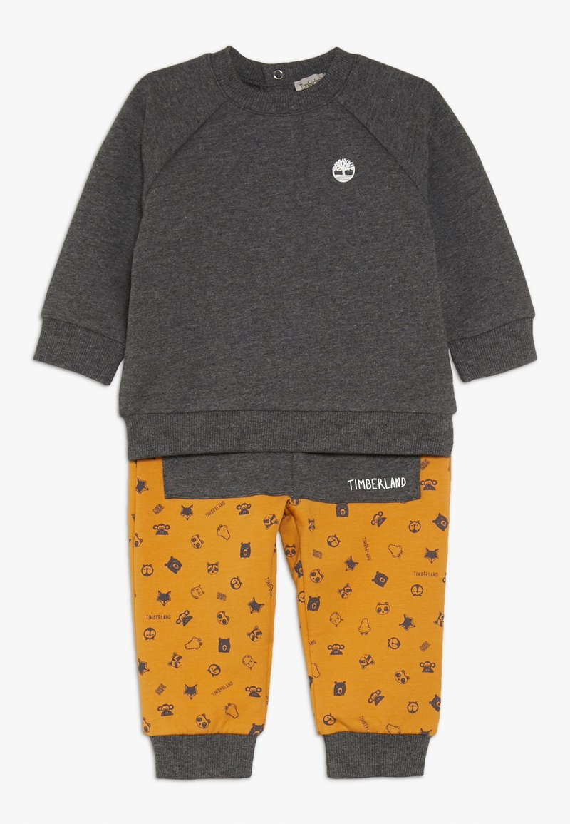 Timberland - BABY ENSEMBLE PANTALON SET - Sweater - yellow boots