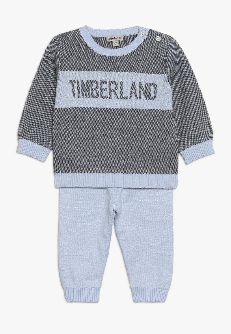 Timberland - BABY ENSEMBLE PULL PANTALON SET - Trui - azur