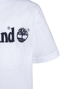 Timberland - Print T-shirt - blanc - 2