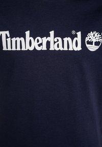 Timberland - T-shirt z nadrukiem - blue indigo - 2