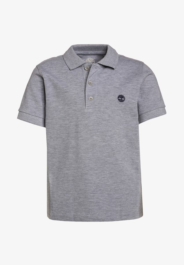 Polo shirt - gris chine