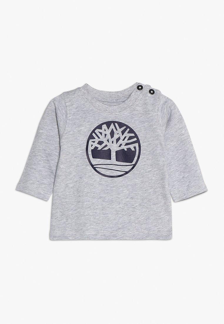 Timberland - Long sleeved top - meliertes grau
