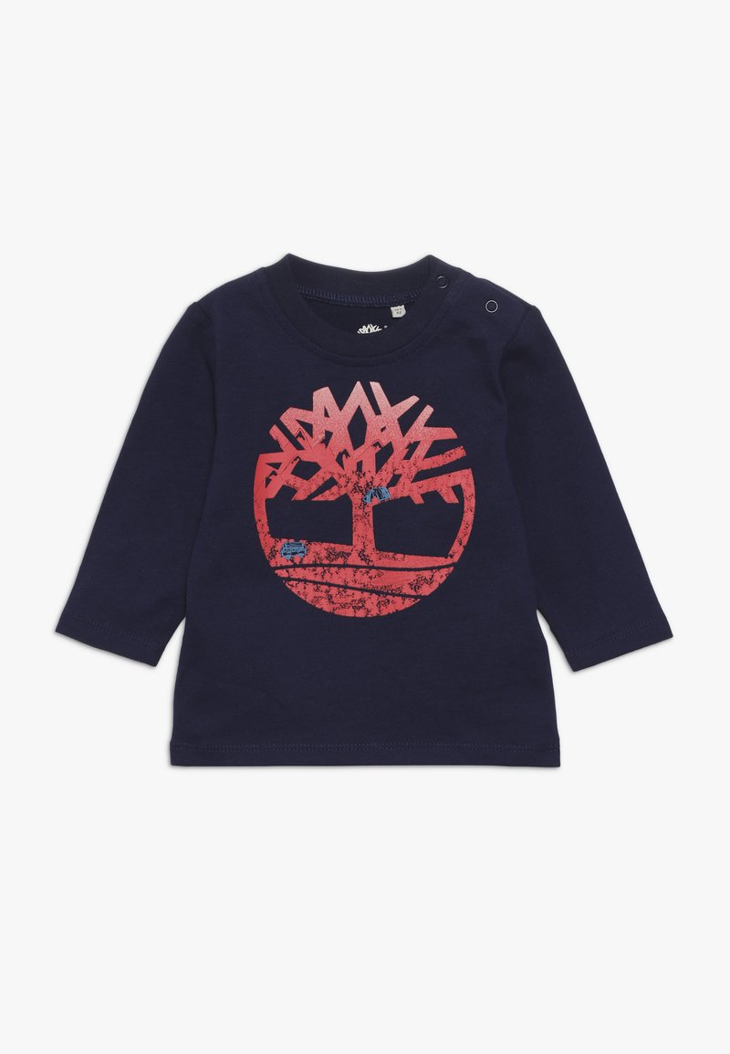 Timberland - BABY TEE MANCHES LONGUES - Long sleeved top - indigo blue