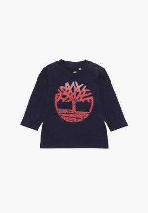 BABY TEE MANCHES LONGUES - Maglietta a manica lunga - indigo blue
