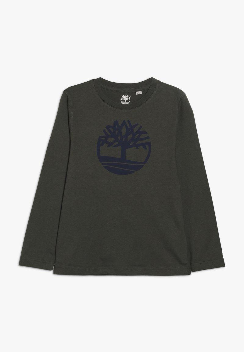 Timberland - Pitkähihainen paita - kaki