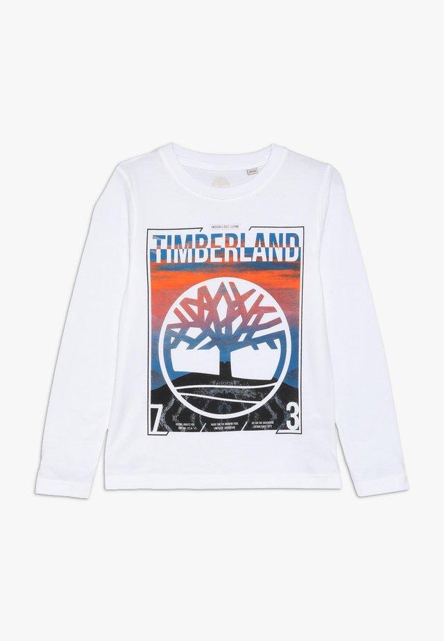 Maglietta a manica lunga - weiss