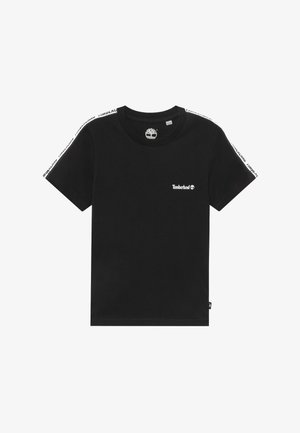 SHORT SLEEVES TEE - T-shirt z nadrukiem - black