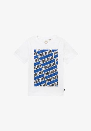 SHORT SLEEVES - T-shirt z nadrukiem - white