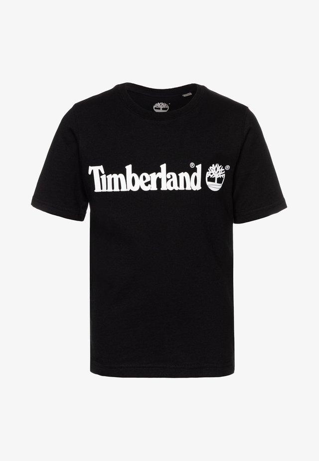 SHORT SLEEVES TEE - T-shirt print - black