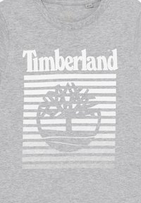 Timberland - SHORT SLEEVES - T-shirt z nadrukiem - chine grey - 3