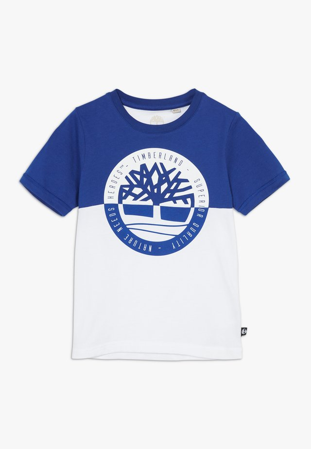 SHORT SLEEVES TEE - T-shirt con stampa - electric blue