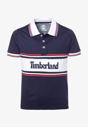 SHORT SLEEVE - Koszulka polo - navy