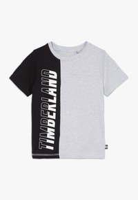 Timberland - Print T-shirt - grey/black - 0