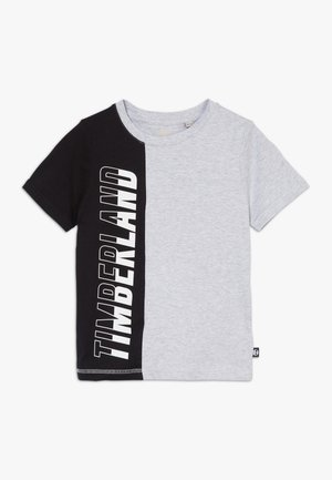 Print T-shirt - grey/black