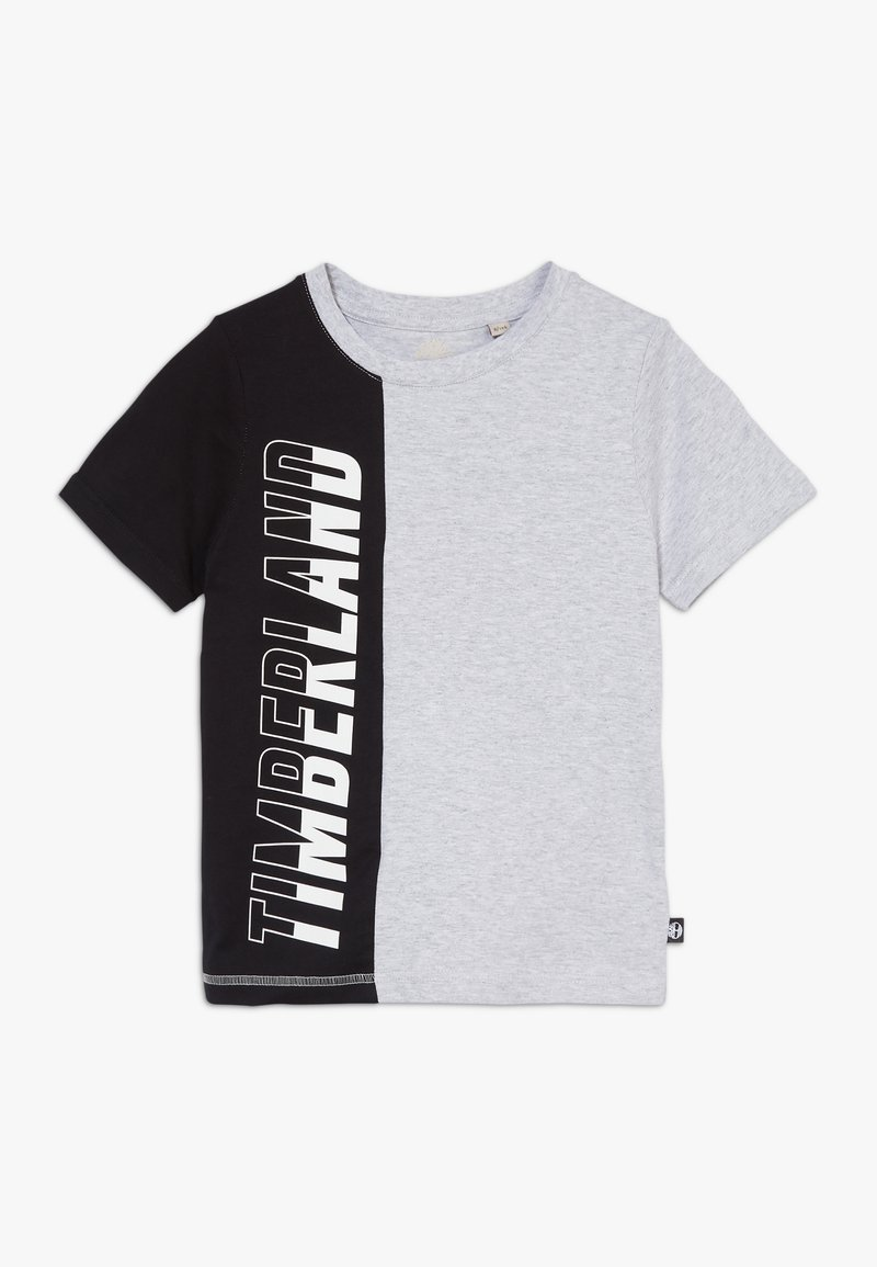 Timberland - Print T-shirt - grey/black