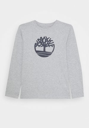 LONG SLEEVE - Long sleeved top - chine grey