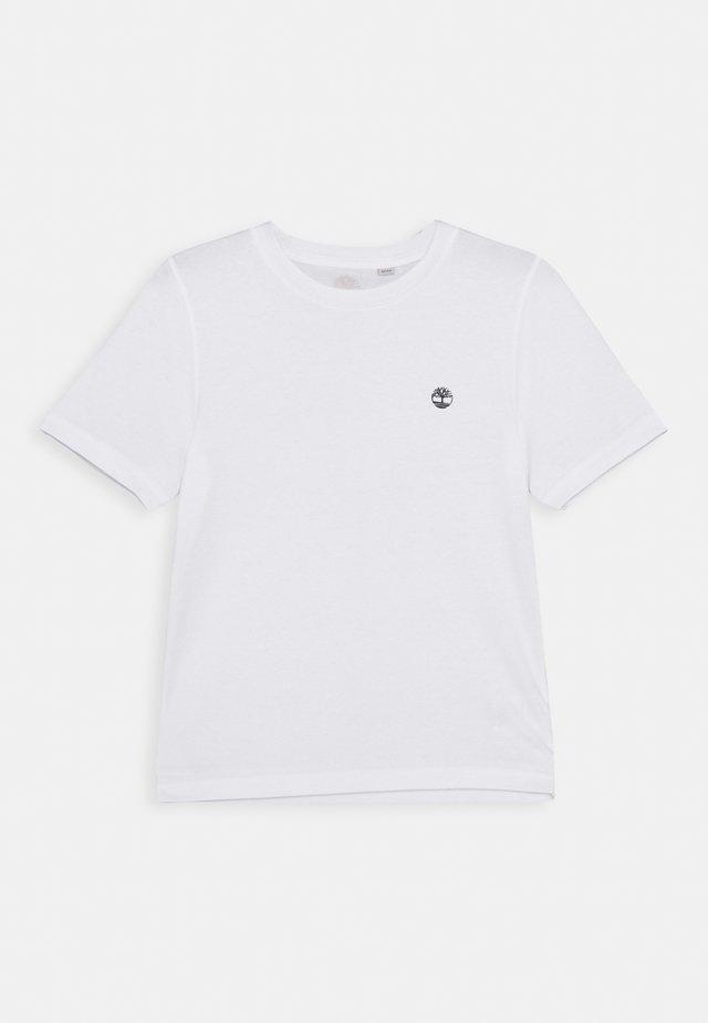 SHORT SLEEVES TEE - T-shirt med print - white
