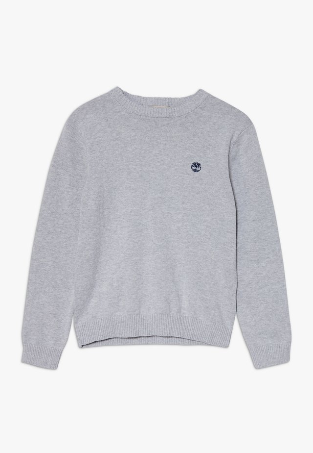 Jumper - chine grey