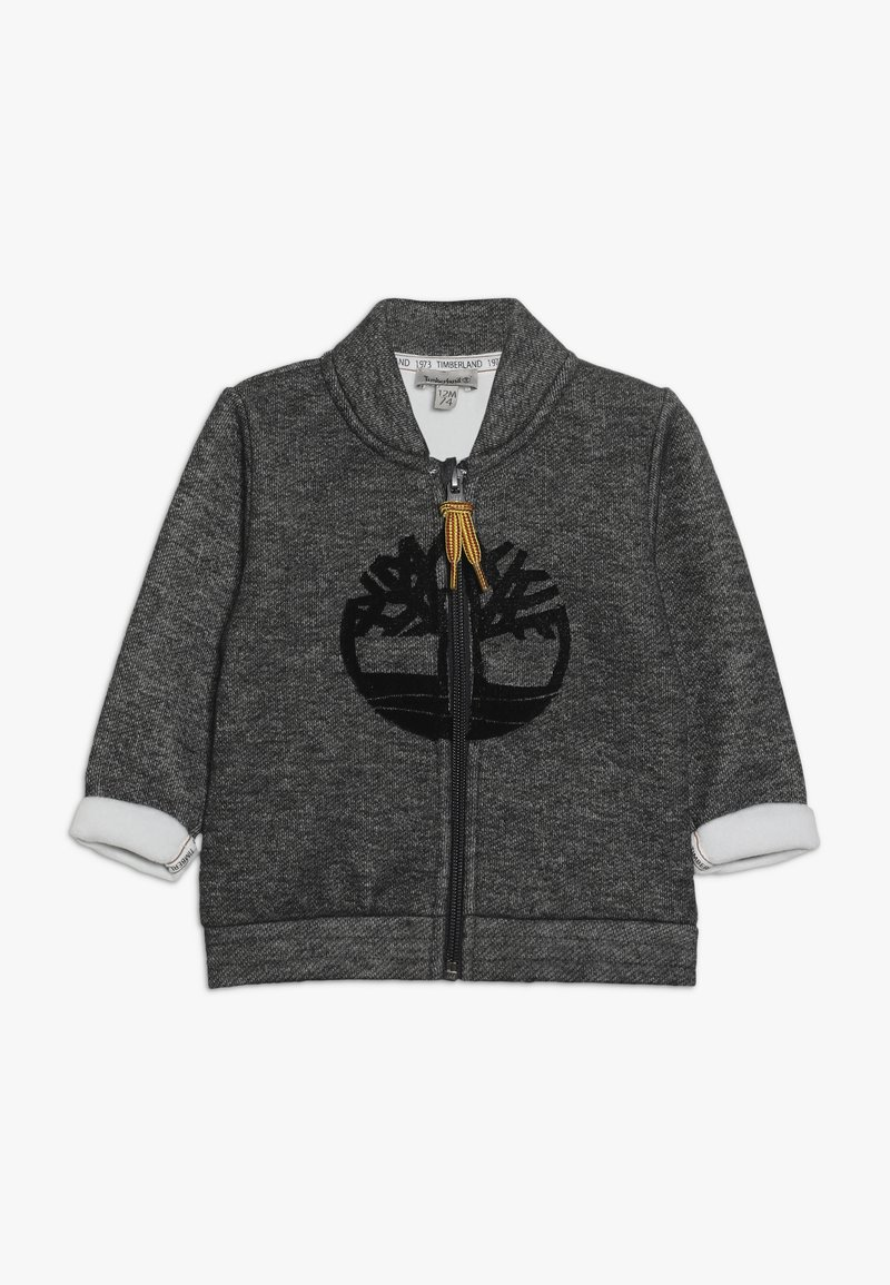 Timberland - BABY CARDIGAN - Zip-up hoodie - grey
