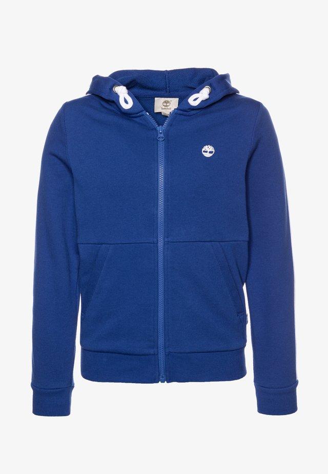 Hoodie met rits - electric blue
