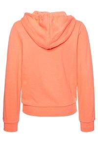 Timberland - HOODED  - Bluza rozpinana - apricot - 1