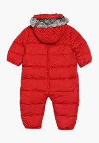 Timberland - BABY COMBINAISON PILOTE - Snowsuit - tomate - 1