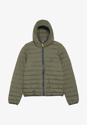 Zimní bunda - kakifonce
