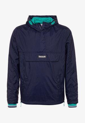 HOODED WINDBREAKER - Chaqueta de entretiempo - navy