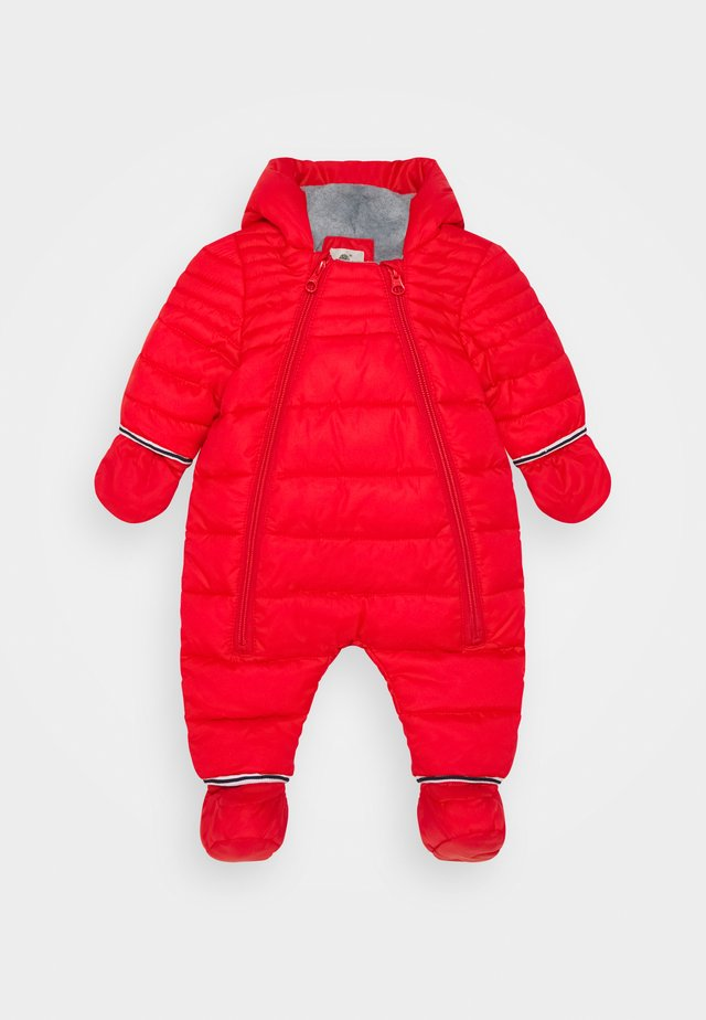 ALL IN ONE BABY  - Snowsuit - bright red