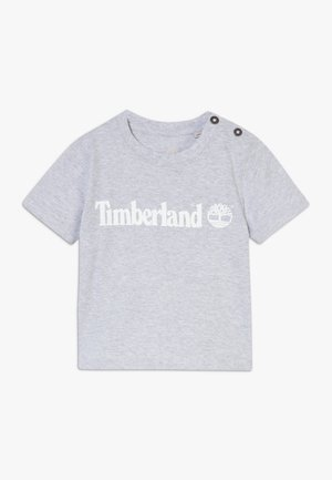 SHORT SLEEVES TEE - T-shirt imprimé - chine grey