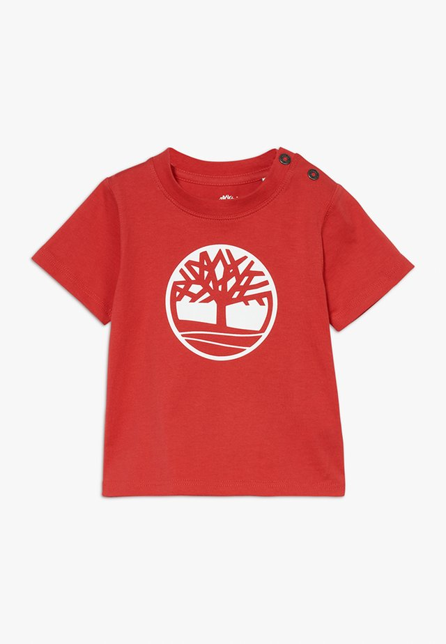 SHORT SLEEVES TEE - Camiseta estampada - red