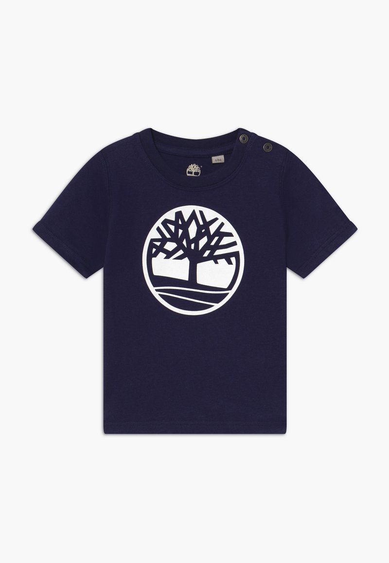 Timberland - SHORT SLEEVES TEE - T-shirt imprimé - navy