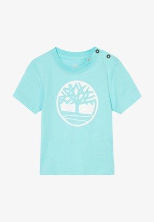 SHORT SLEEVES TEE - T-shirt imprimé - aqua