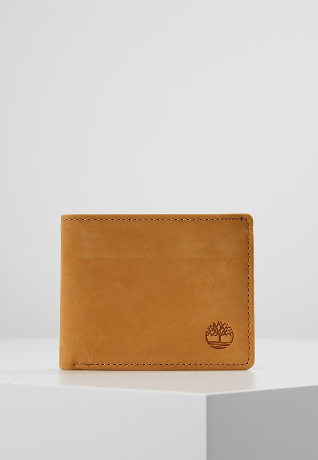 PASSCASE WITH COIN POCKET - Portafoglio - wheat