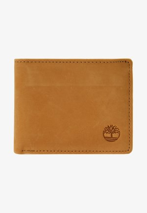 PASSCASE WITH COIN POCKET - Lompakko - wheat