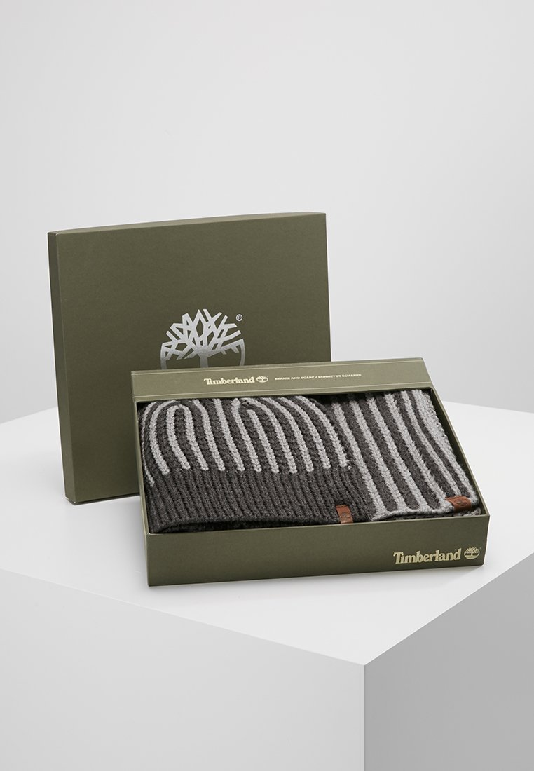 Timberland - GIFT BOX - Écharpe - charcoal heather